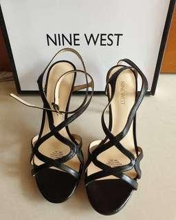 Authentic NINE WEST Leather Shoes, Cuma dipakai 1x