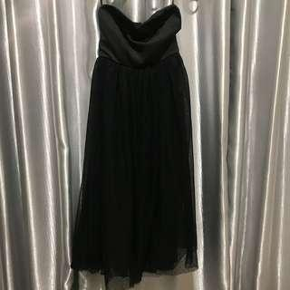 Stradivarius black dress