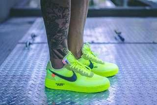 Offwhite x Nike Airforce 1