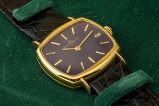 名士 Baume & Mercier ref. 37072 18k yellow gold 自動機械錶