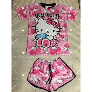 Hello Kitty Shirt and Pants Set