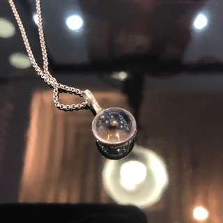 喬治傑生 georg jensen 2013 透明水晶 項鍊
