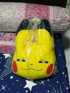 Promo! 42cm BIG Pikachu head pushie