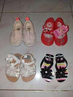 Baby Shoes (take all + free Johnsons baby products)