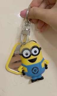 Minion Keychain Mirror from Universal Studios Singapore (USS)