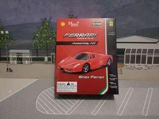 Burago 1:43 Enzo Ferrari Assembly Kit.