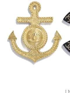 BNIB Chanel Anchor Brooch