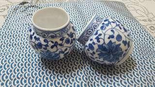 Hwamei/ shama bird cups