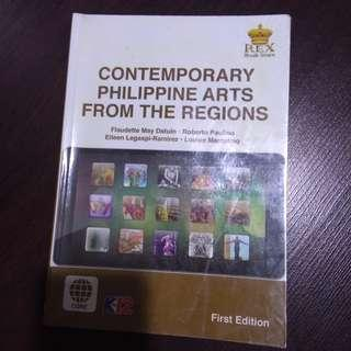 Contemporary Philippine Arts from the Regions (K12 book)