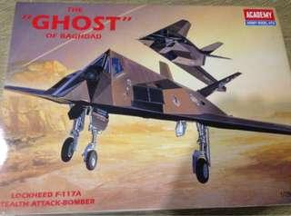 1/72 Lockheed F-117A Stealth Attack Bomber