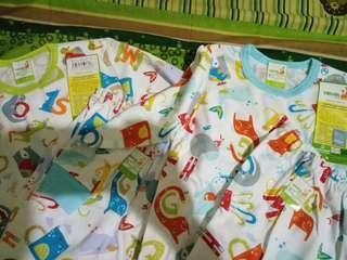 2 set Velvet sleep wear/ baju tidur anak velvet uk XL