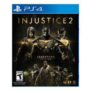 PS4: INJUSTICE 2: LEGENDARY EDITION (R3)