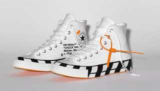 Converse X OFF-WHITE shoes sneaker