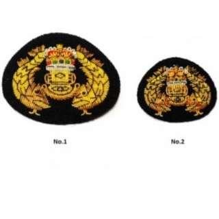 French Diver Badges (Authentic Singapore Army Collectibles), for Number 1 and Number 2 Uniforms