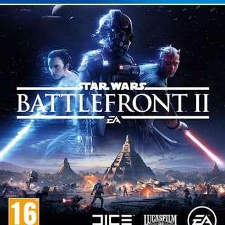 PS 4: Star Wars - Battlefront 2