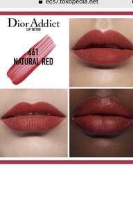 Dior addict lip tattoo in #661