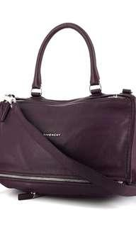 Dark Purple Givenchy Pandora Medium