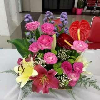 Bunga Rangkai_Bunga Meja..Bunga Hidup