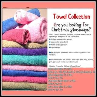 Royal Cannon Towels for Christmas gifts