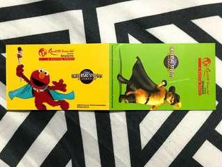 Universal Studios Singapore 1-Day Adult Ticket + Meal Voucher valid till 4/2/19