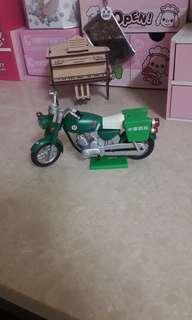 中華郵政<絕版品>郵務機車 摩托車模型
