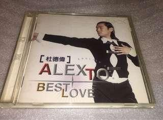 Best Love 杜德偉 Alex To CD 唱片