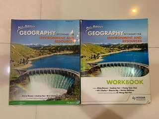 All about geography Secondary 1 textbook and workbook
