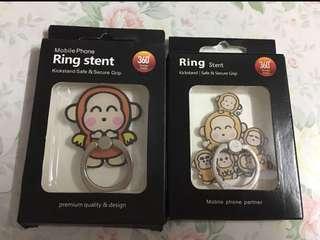 ✨買二送一 Monkichi 馬騮仔 手機指環 手機扣 Ring Stent