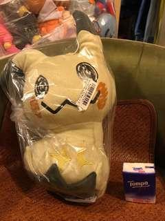 $120 順豐到付 或 太和面交 正版 聖誕節禮物 大公仔 日本直送 迷樣比卡超 寵物小精靈