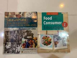 Secondary 1 textbooks