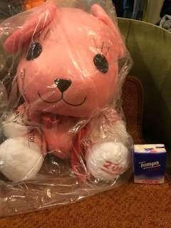 $100 順豐到付 或 太和面交 正版 聖誕節禮物 大公仔 日本直送 暴力熊Postpet