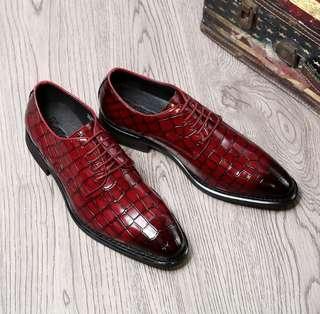 🚚 Men Stylish Formal Leather Shoe US 7~9.5
