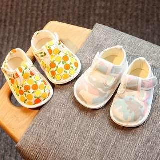 🚚 Baby Girl Breathable Rubber Sole Non-Slip Shoe (NSS 005)
