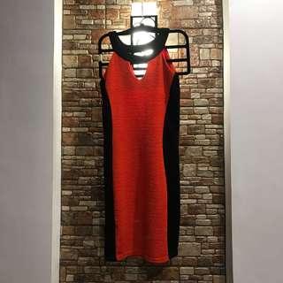 Red Halter Dress