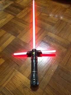 Star Wars Kylo Ren Force FX lightsaber