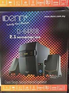 DENN D-6480B PC Audio with Bluetooth function