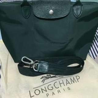 ONLY TODAY SALE ORIGINAL Longchamp Le Pliage Néo Emerald Green