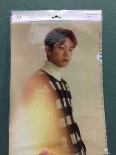 Exo baekhyun L Holder winter 2016
