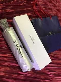 🎄🎅🏻Xmas sale Umbrella auto Swarovski (Authentic)
