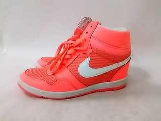 🚚 日本帶回 Nike日本帶回螢光橘高筒鞋