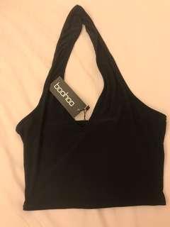 Brand new Black halter top