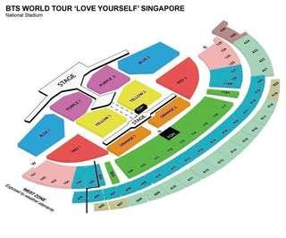 Cat 5: BTS LOVE YOURELF CONCERT TICKETS