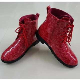 Red Dot Boots For Kids