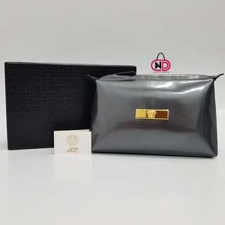 AUTHENTIC GIANNI VERSACE LEATHER POUCH
