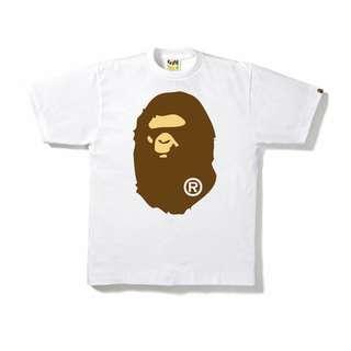 🚚 Bathing Ape Big Ape Tee Size M