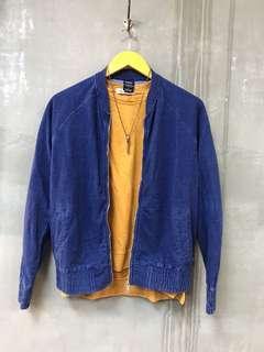 🚚 年前特價商品/藍染日女版棒球外套