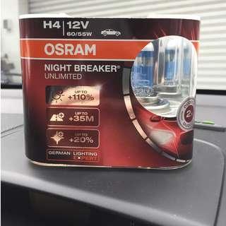 H4 OSRAM NIGHT BREAKER LASER