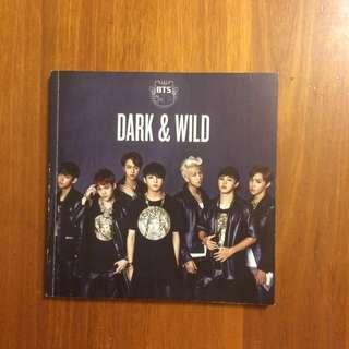 BTS dark and wild album (photobook)