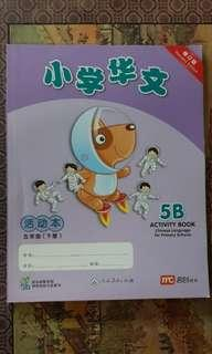 P5 Chinese activity book 5B