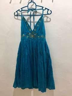 Preloved Turquoise dress